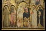 Coronation of the Virgin with Four Musical Angels