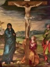 Crucifixion with Witnessing Saints