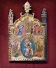 Madonna with Child and Angels, Crucifixion
