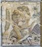 Lion Kills Leopard Mosaic
