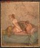 Fresco of Erotic Couple