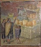 Fresco of the distribution of bread