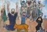 The Hebrews Adore the Golden Calf