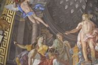 Apollo and the Muses [ceiling fresco]