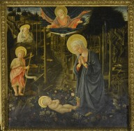 Adoration of the Christ Child with St Romuald and the Infant John the Baptist