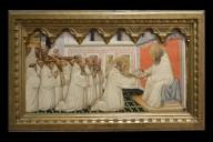 Saint Romuald Receives the Rule of Saint Benedict