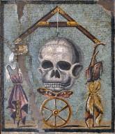 Memento Mori Floor Mosaic