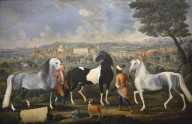 Rospigliosi Horses and View of Zagarolo