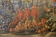 Pageant in the Courtyard of Palazzo Barberini in Honor of Christina of Sweden