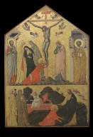 Crucifixion with Saints and Noli Me Tangere