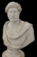 Bust of Hadrian wearing Chlamys