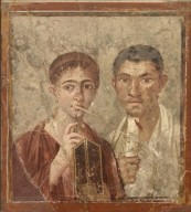 Portrait of Terentius Neo and Wife