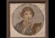 Portrait of a young woman (so-called 'Sappho')