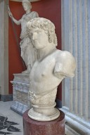 Colossal Bust of Antinous from Villa Adriana