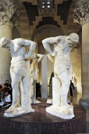 Atlantes in the form of Satyrs, Atlantes in the form of Satyrs