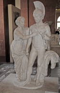 Imperial group (Hadrian and Sabina) as Mars and Venus, Imperial group (Hadrian and Sabina) as Mars and Venus