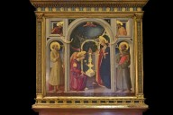 Annunciation with Saints Francis and Jerome