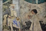 Sigismondo Malatesta Kneeling before Saint Sigismund