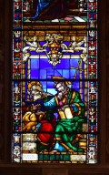 Filippo Strozzi Chapel, Stained Glass