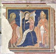 Madonna and Child with with Saints John the Baptist and Ubald of Gubbio