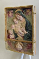 Madonna with Child with Infant John the Baptist and Cherubim