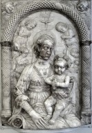 Madonna and Child with Angels within an Aedicule