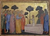 Saint Peter raising the Son of Theophilus (Predella panel from the San Pier Maggiore Altarpiece)