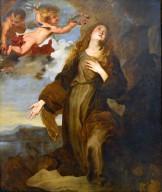 Saint Rosalia Crowned by Angels