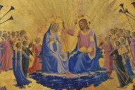 Glorification of the Virgin between Angels and Saints