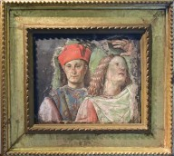 Two Male Faces [fresco fragment]