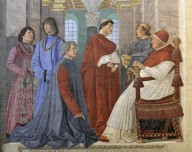 Sixtus IV appoints Bartolomeo Platina Prefect of the Vatican Library