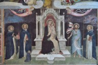 Madonna and Child Enthroned between Saints