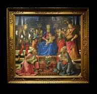 Madonna with Child, Saint Justus, Saint Zenobius, and the Archangels Michael and Raphael