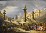 Patriotic Altar in St. Peter's Square for the Festival of the Federation (1798)