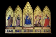 Polyptych (Madonna and Child Enthroned with Saints and Archangels)