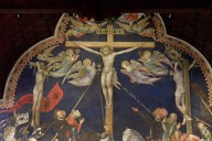 Altar wall with the Crucifixion