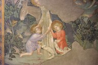 St. John's meeting with the Infant Jesus and the Virgin Mary