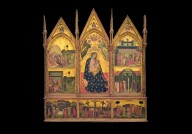 Madonna Lactans with Scenes of the Life of St. Bartholomew