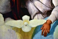 Eternal Father with the Dove of the Holy Spirit