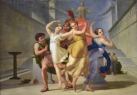 Theseus and Pirithous Abducting Helen