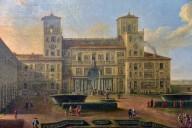 View of Villa Medici