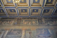 Hall of Perspectives, Mythological Scenes in the Frieze