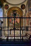 Capponi Chapel, Deposition