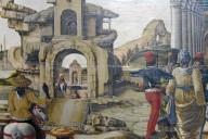 Miracles of St. Vincent Ferrer (predella)