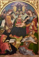 Madonna and Child, the Trinity, St. Augustine and St. Athanasius of Alexandria