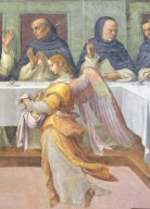 St. Dominic and His Friars Served by Angels