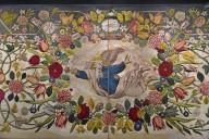 Painted Silk Taffeta Altar Cloth (antependium)