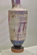 White Funerary Lekythos
