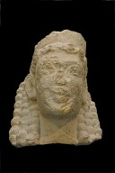 Head of a Female Divinity Wearing a Polos
