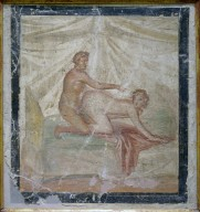 Brothel Painting of Erotic Couple